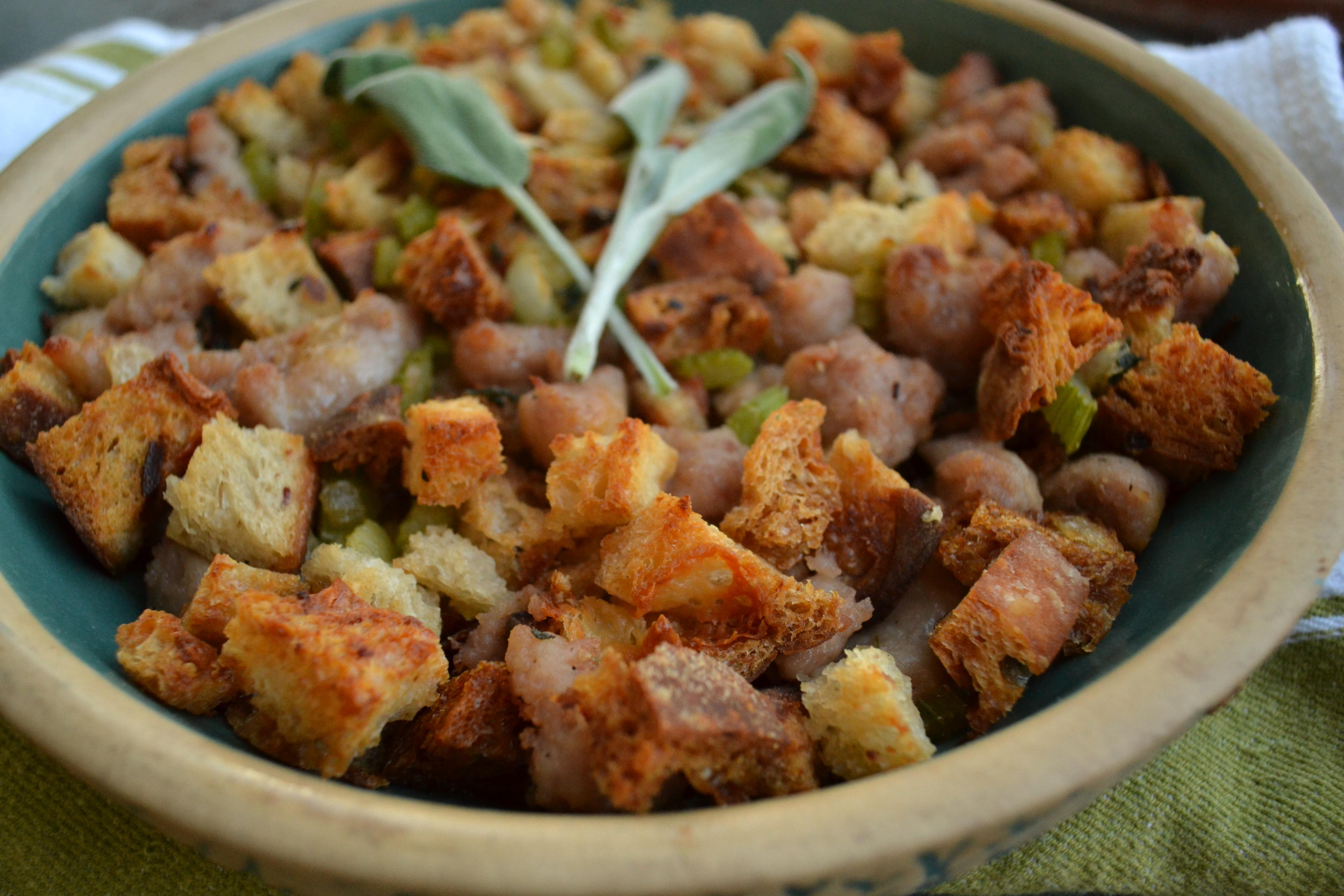 Irish Sausage Stuffing