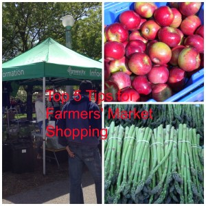 Top Five Tips for Shopping at Farmers' Markets