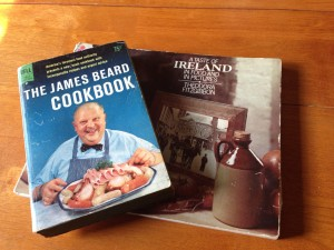 Used cookbooks I found at the Printer's Row Litfest.